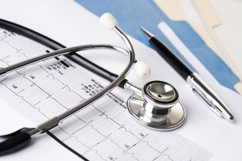 Stethoscope & EKG